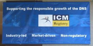 ICM Registry banner